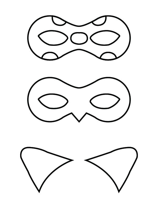Printable Mask And Ears