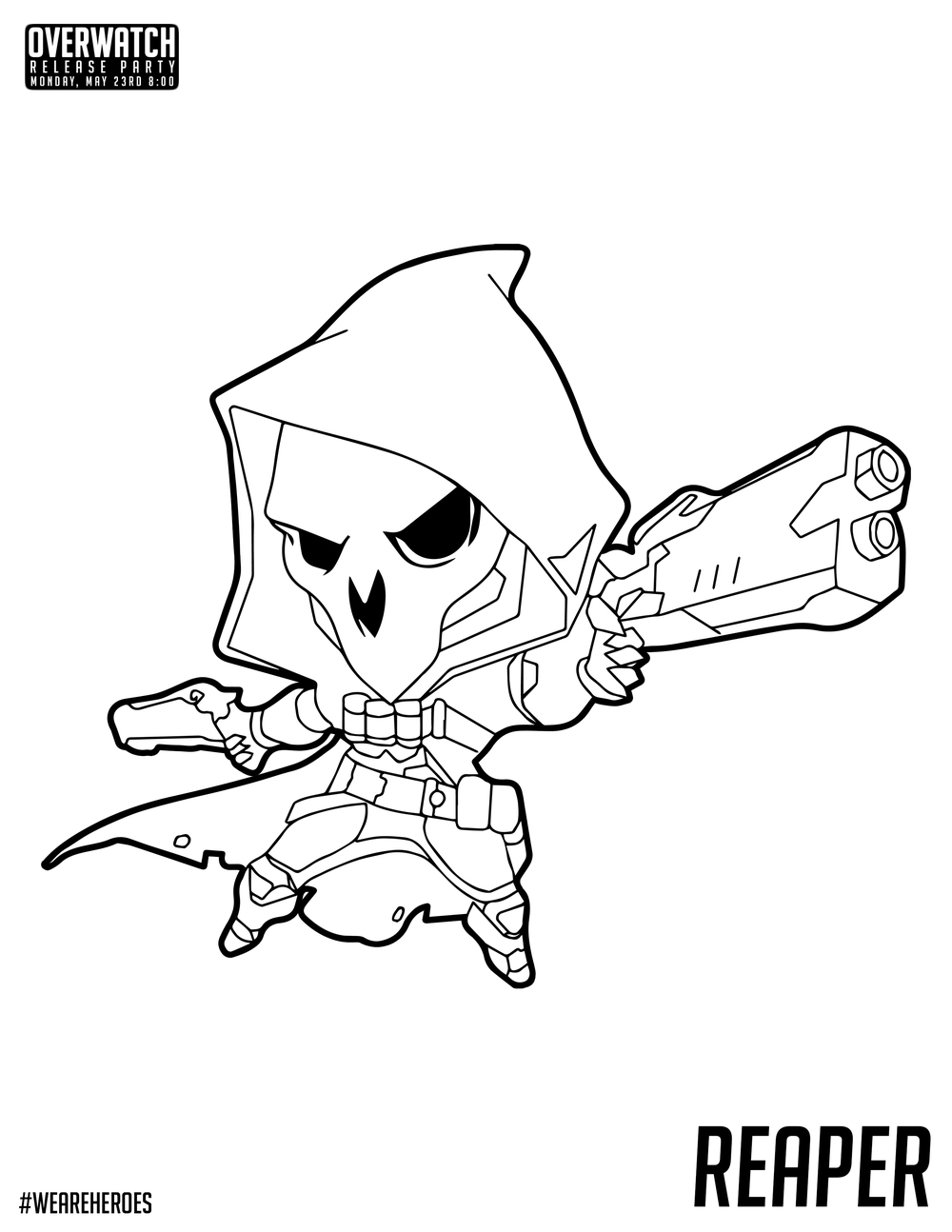 Reaper Coloring Pages