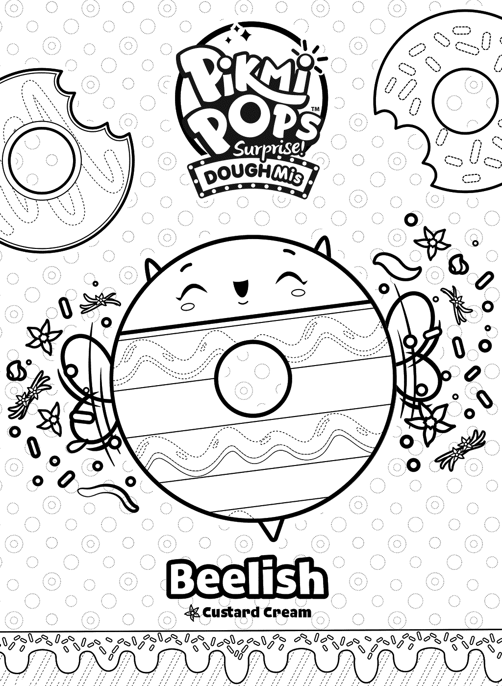 Beelish Pikmi Pops Coloring Pages
