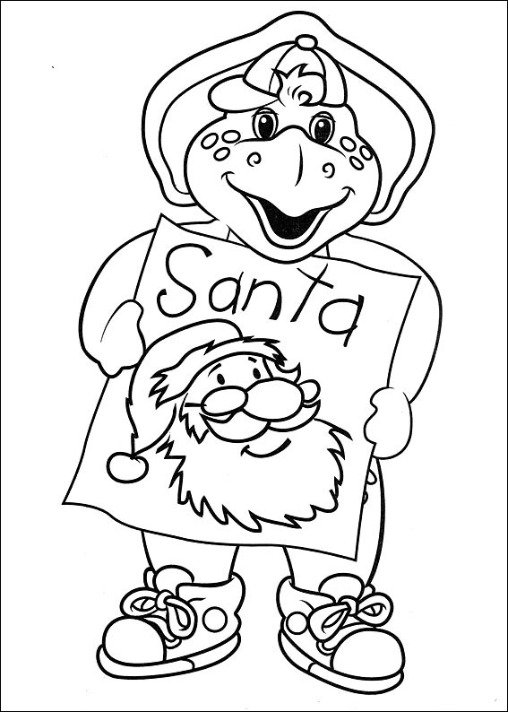 Dinosaur Christmas Coloring Pages Best Coloring Pages For Kids