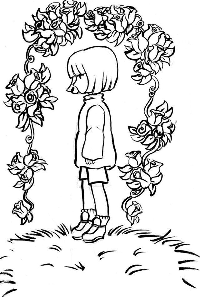 Frisk Undertale Coloring Pages