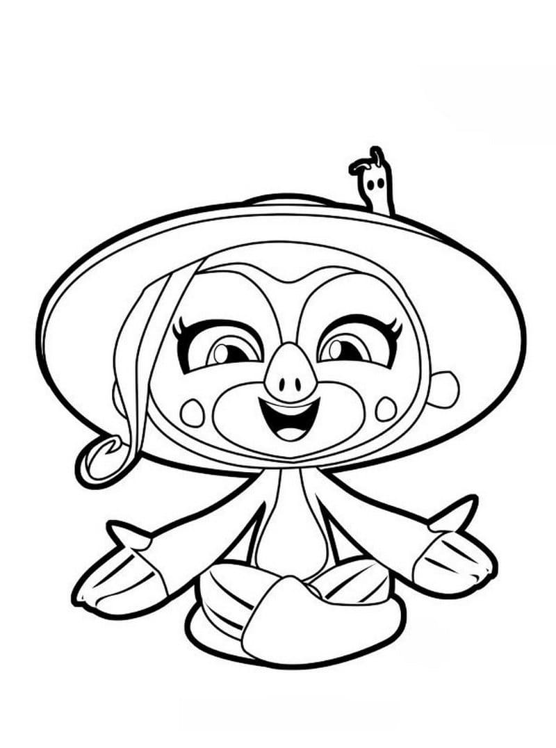 Hello Fingerlings Coloring Pages