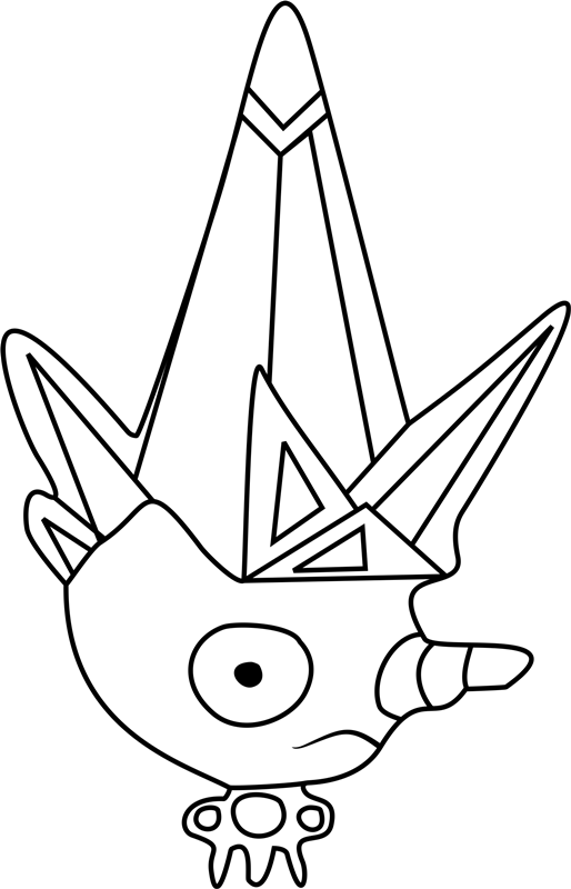 Ice Cap Undertale Coloring Pages