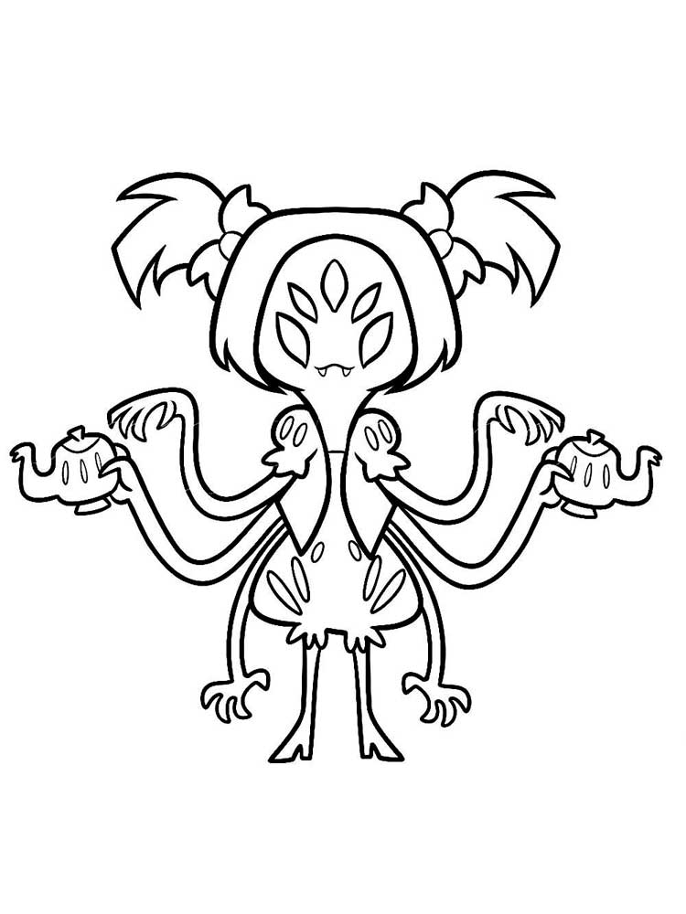 Muffet Undertale Coloring Pages