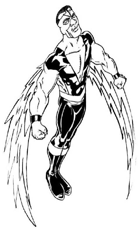 Super Falcon Coloring Page
