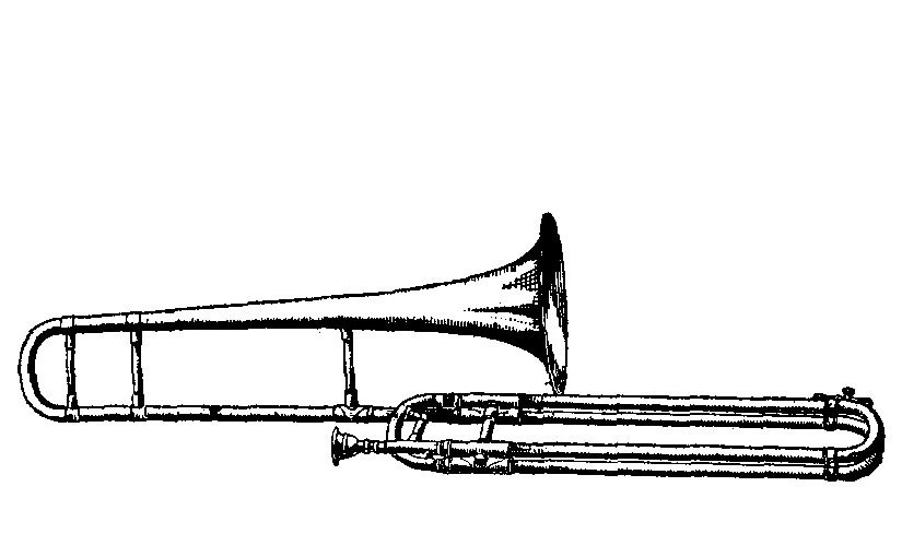 Trombone Coloring Pages