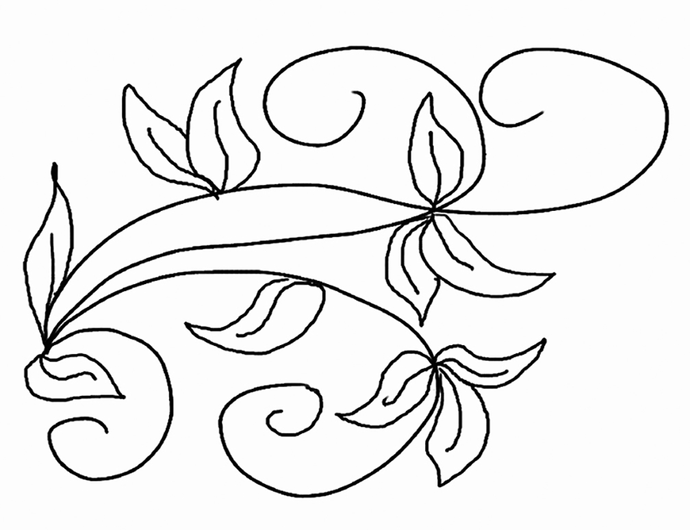 Beautiful Ivy Coloring Pages