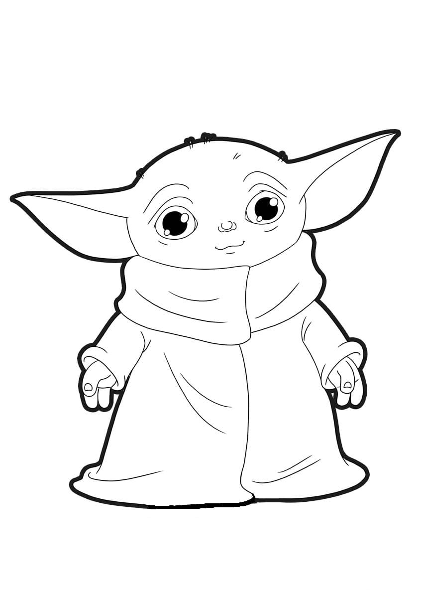The Child Coloring Page