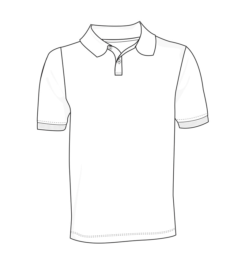 Polo Shirt Coloring Pages