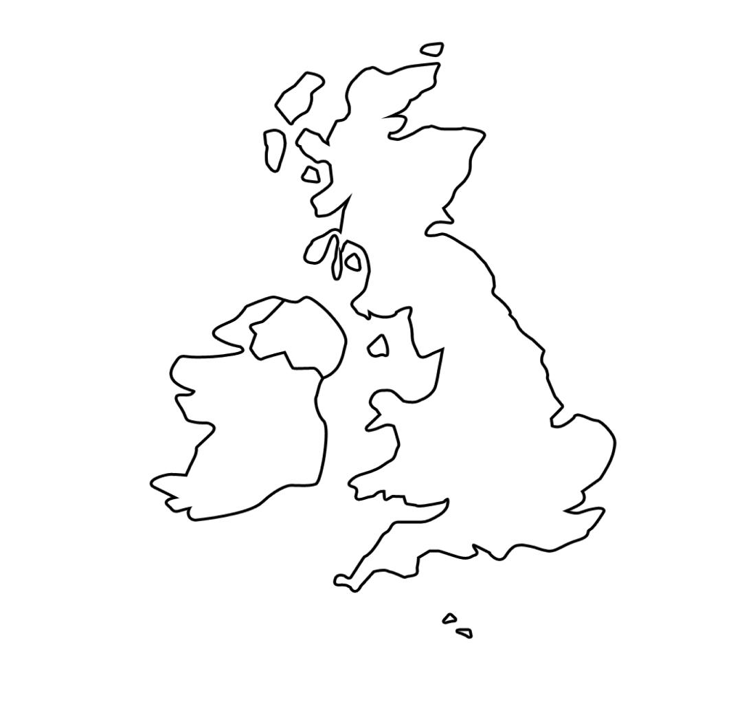 United Kingdom Map Worksheet