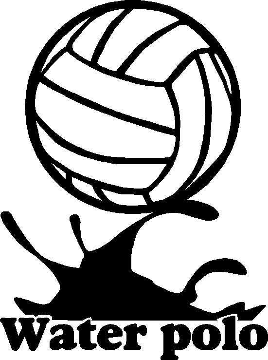 Water Polo Coloring Page