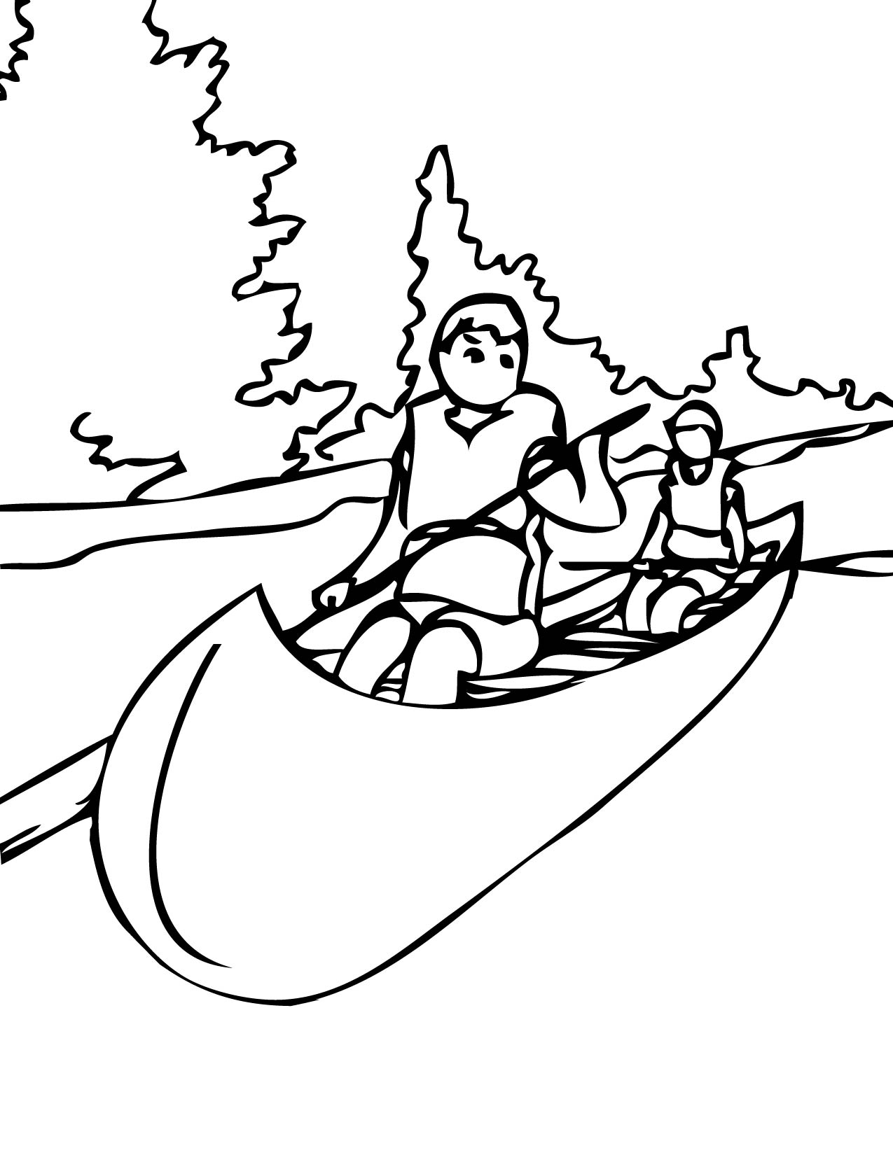 Water Sports Coloring Page