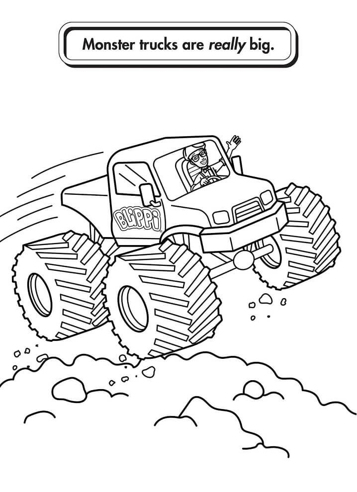 Blippi Coloring Pages Free Printable Coloring Pages For Kids For Blippi Coloring Pages Printable